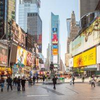 Bật mí những điều thú vị về quảng trường Thời Đại ở New York